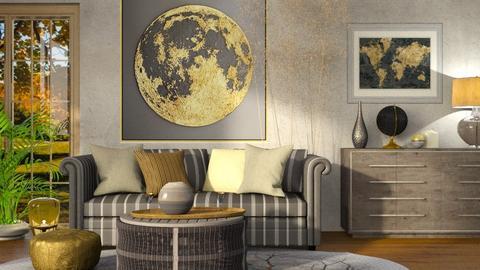 Gold Moon - by ZsuzsannaCs