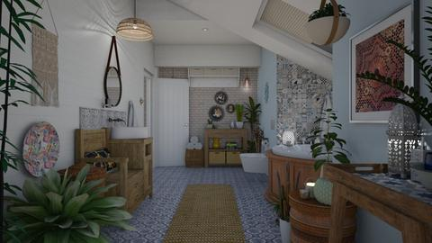 Boho Bathroom - Bathroom - by Nicky West