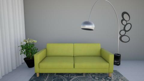 Ground Floor BLUE - Living room - by danahaviv444