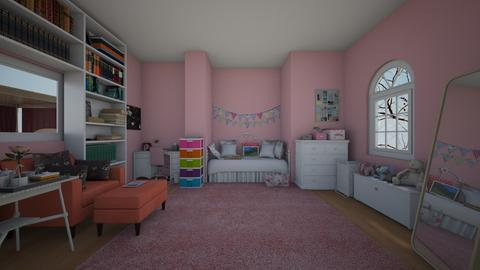 girl bedroom 1  - by eboni archila