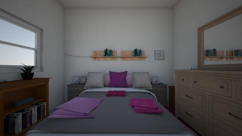 Bedroom - Bedroom - by InvisiblePinkToast