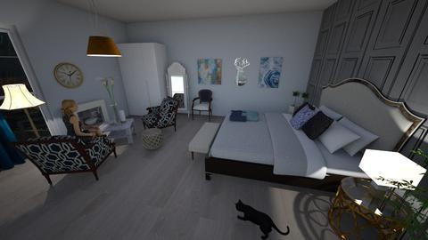 Blue Calmness - Vintage - Bedroom - by honeybur
