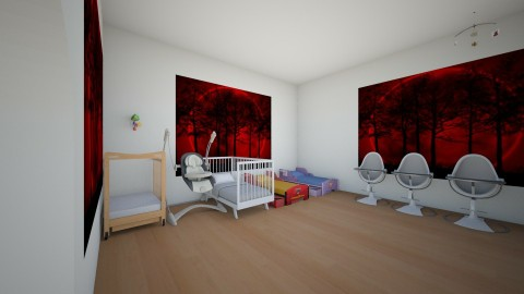 nursery - Classic - Kids room - by Cheyenne Stephenson