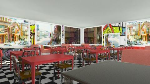 Restaurant - Classic - by Jacquie Ru