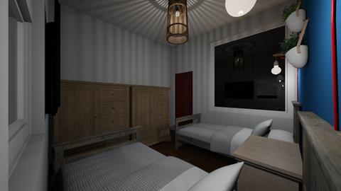 Plan 1 - Bedroom - by fzajuan
