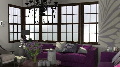 GlamourLiving - Glamour - Living room - by camilla_saurus