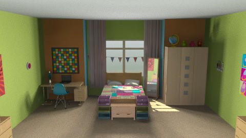 fun room - Modern - Bedroom - by Anna_m