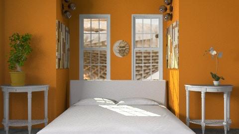 oranges - Modern - Bedroom - by lavilavinia