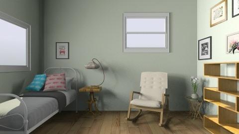 Wells Room 1 - Bedroom - by Rosalie Carrier
