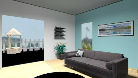 Sky Modern Family Lounge - Living room - by i_love_ducks