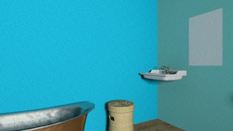 Valeria Bathroom - Retro - Bathroom - by valeria_sarah