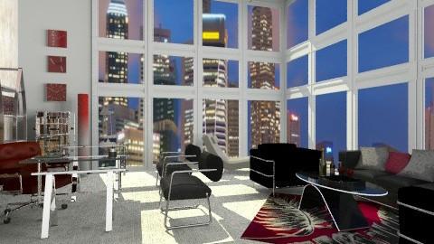 That Corner Office - Modern - Office - by chloedaniella