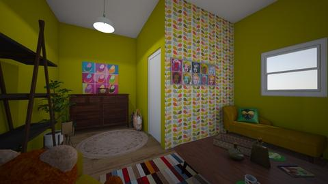 My first attempt 3 - Vintage - Living room - by Perpetto