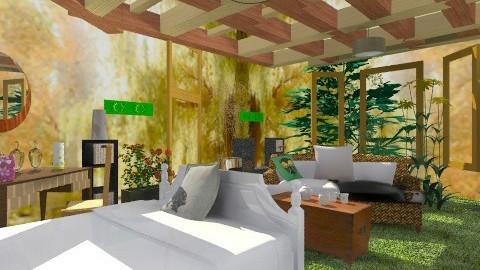 Woodcutters daughter - Rustic - Bedroom - by mrschicken
