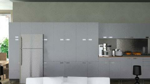 Departamento - Kitchen - by mine8ag