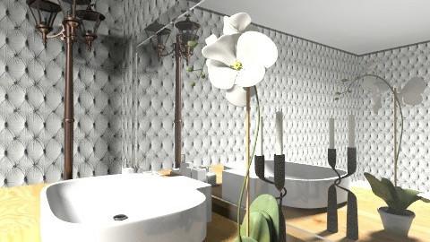 modern bathroom 2 - Modern - Bathroom - by mslmkus