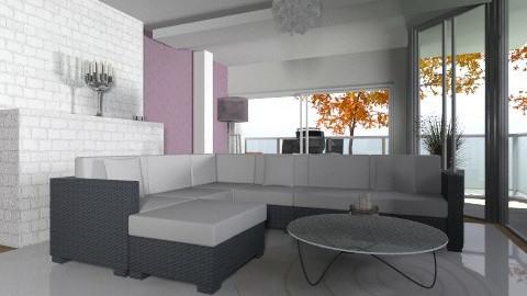 Livingroom 2 - Modern - Living room - by oxigen