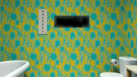 Green Bathroom - Retro - Bathroom - by Hoppertons