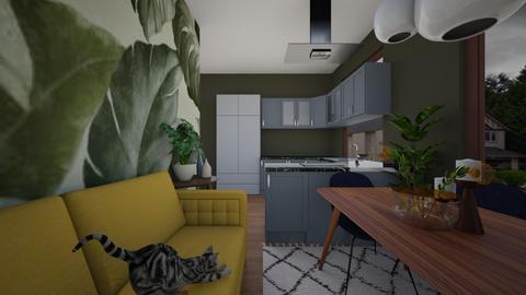 13 - Living room - by alina shrayner