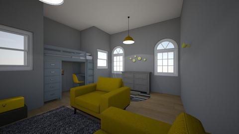Teen bedroom - Modern - Bedroom - by bluebunny13