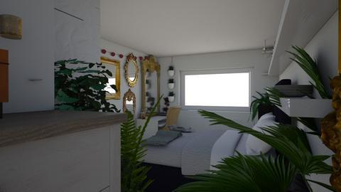 mirror bedroom idea - Classic - Bedroom - by x_xtas