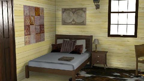 Rustic House - Bedroom - Rustic - Bedroom - by Gloria B