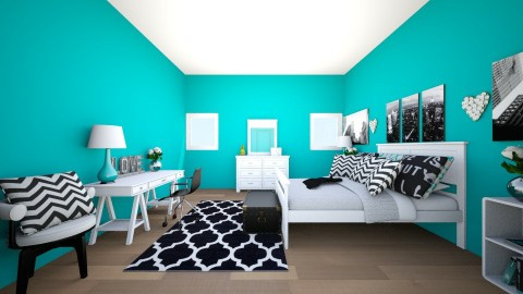 TWEEN NEW YORK CITY - Glamour - Bedroom - by keelinmargrertobrien