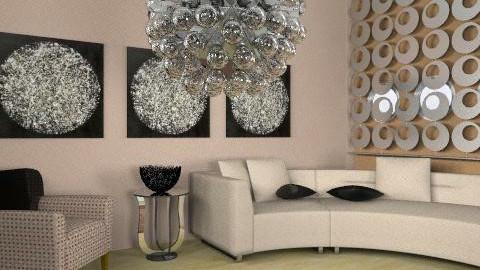 retro room - Retro - Living room - by trees designs