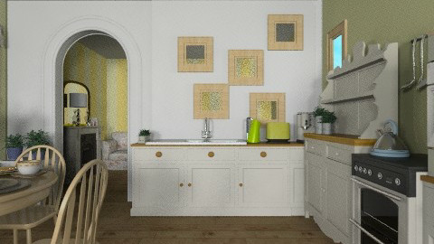Provence - Country - Kitchen - by Laurika