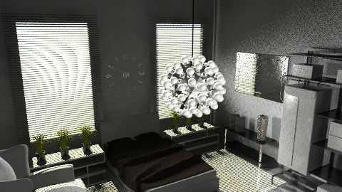 cold bedroom - Modern - Bedroom - by awiley