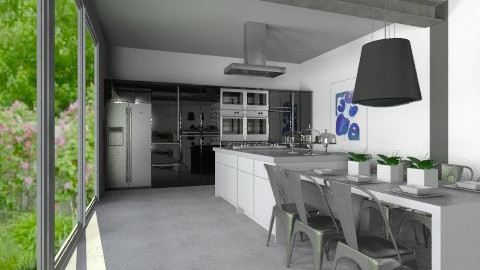 Set - Modern - Kitchen - by Carliam
