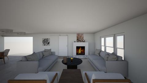 open concept liv din - Eclectic - Living room - by suzan11