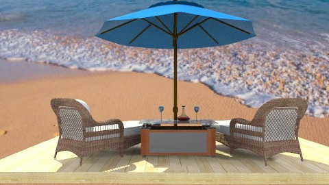 Our Private Beach - Eclectic - Garden - by wiljun