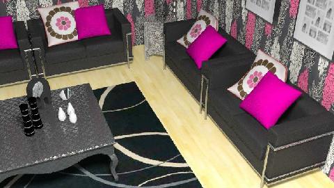 winkky pinkkky - Living room - by samahir