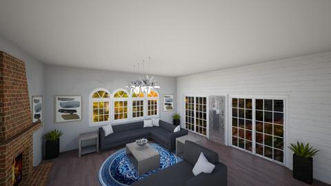 Fall farmhouse - Living room - by Peyton Popson