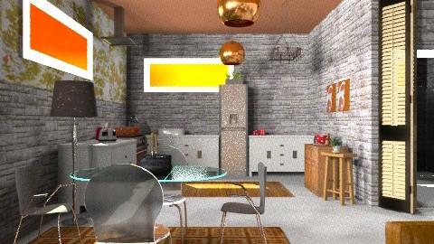 Butterfly - Eclectic - Kitchen - by mrschicken