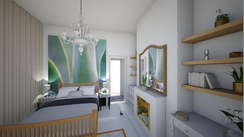 Flat 1 bedhead view - Bedroom - by macdebdesign