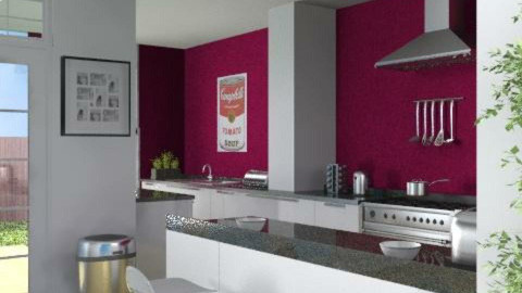 My Kitchen - Modern - Kitchen - by ATOMIUM