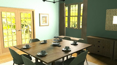 Country Rustic - Country - Dining room - by jasperhale