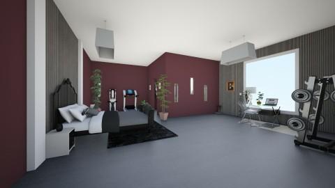 black teen room - by micah17_