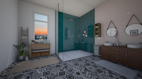 eclectic bathroom - Bathroom - by td123