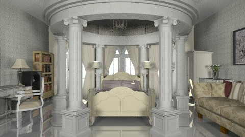 classic moist in white - Classic - Bedroom - by Veny Mully