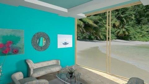 Carribean - Glamour - Living room - by HGranger2