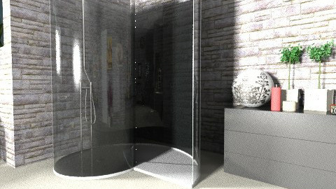 Large Bathroom view4 - Eclectic - Bathroom - by hope160