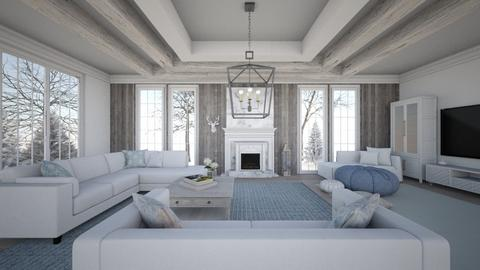 Winter Wonderland - Living room - by R2krw09