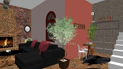 Random Living room - Living room - by Salma Elsheikh