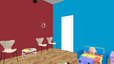Waiting Room - Kids room - by monabaydoun