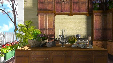 An old kitchen. - Rustic - Kitchen - by Baustin