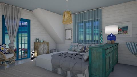 Bedroom - Country - Bedroom - by Annathea