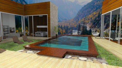 Pool House - Modern - Garden - by sahfs